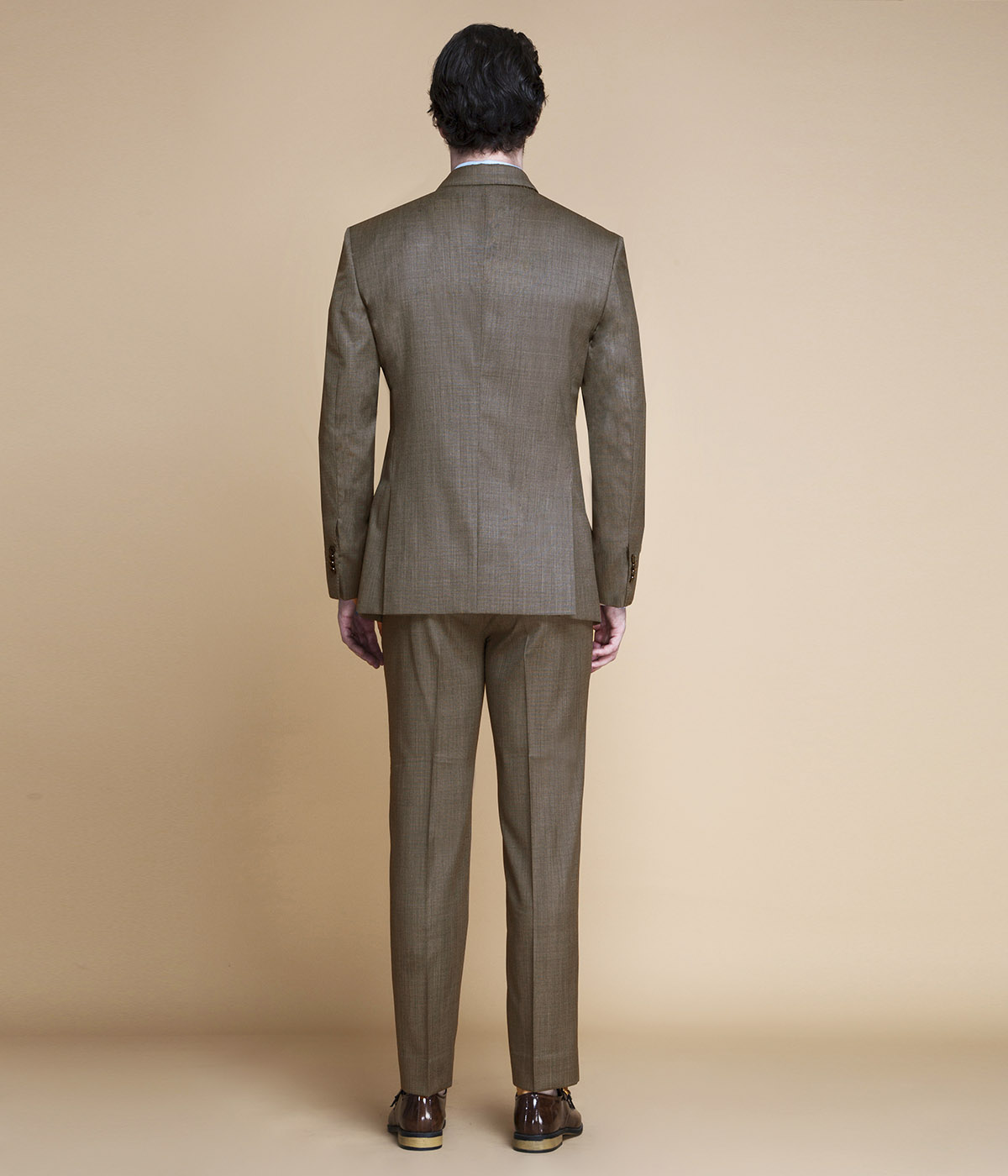 Nalton Brown Nailhead Suit-mbview-2