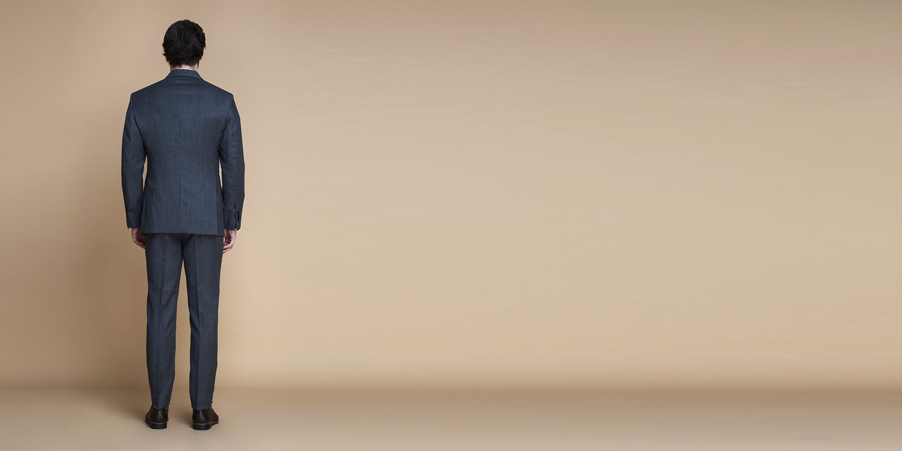 Windsor Grey Flannel Suit- view-2