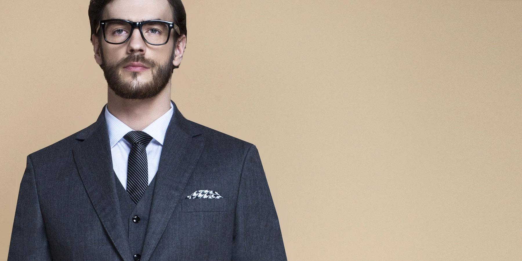 Windsor Grey Flannel Suit- view-3