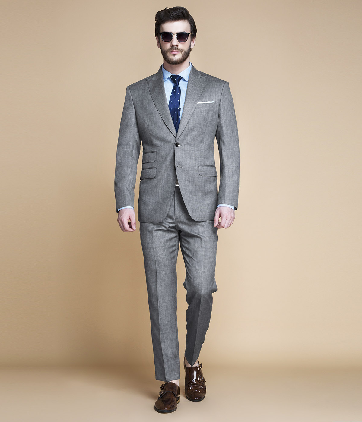 Milan Grey Nailhead Suit-mbview-1