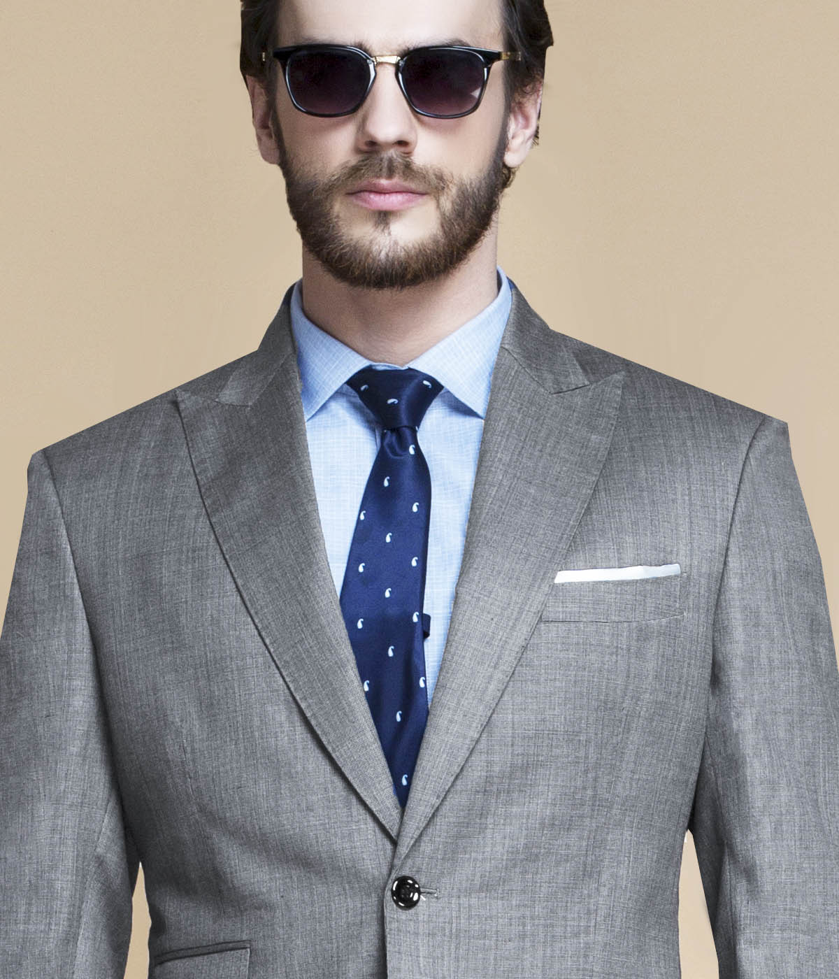 Milan Grey Nailhead Suit-mbview-3