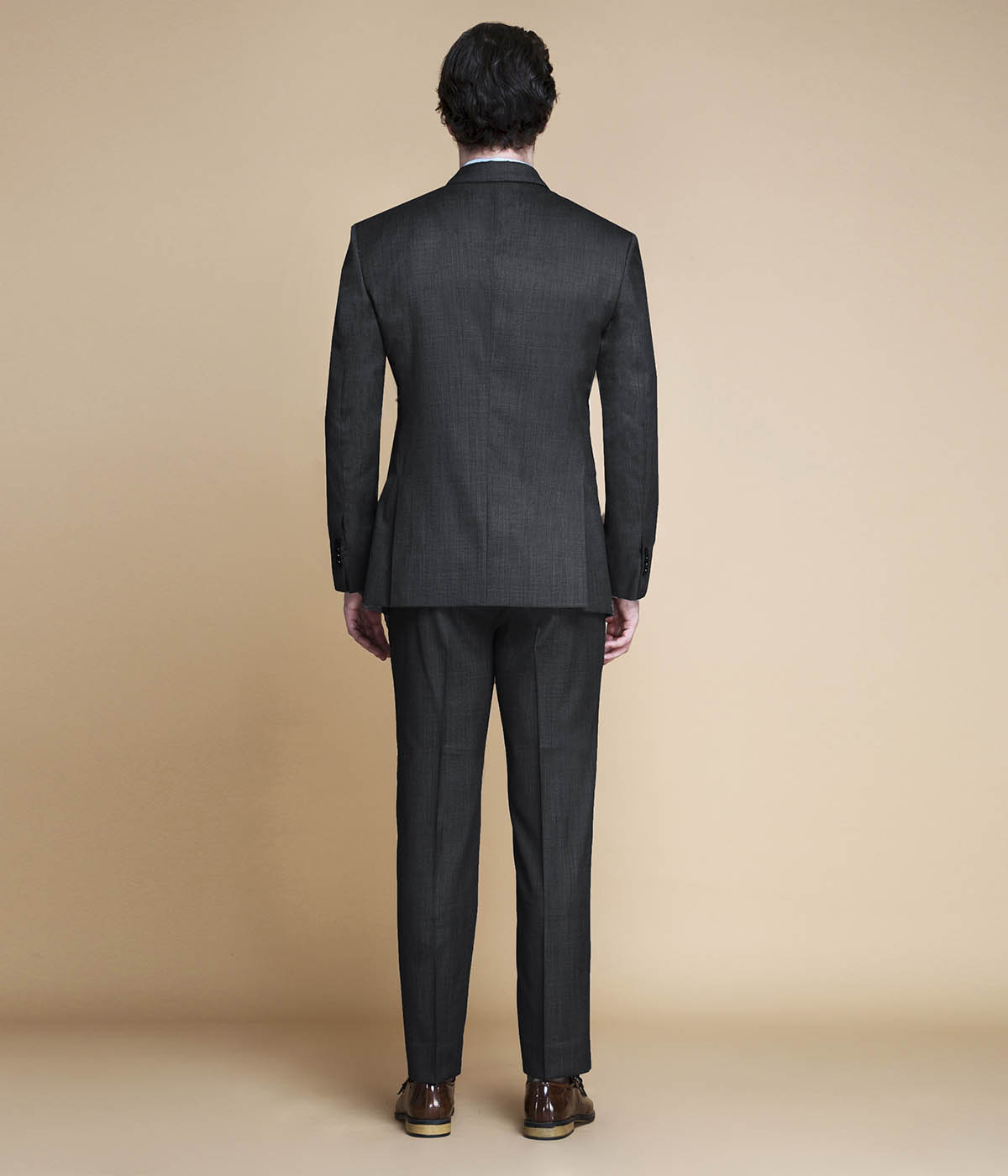 Hudson Charcoal Nailhead Suit-mbview-2