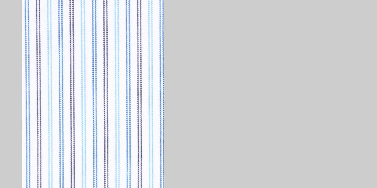 Blue & Black Pinstripes Shirt- view-3