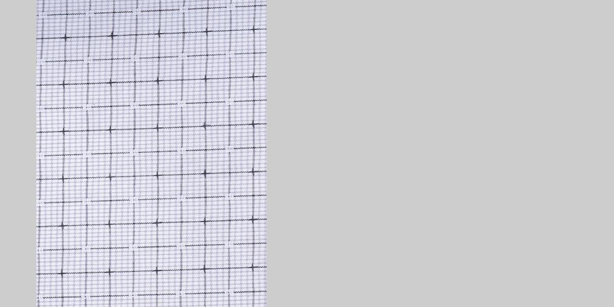 Black & Grey Hairline Checks Shirt- view-3