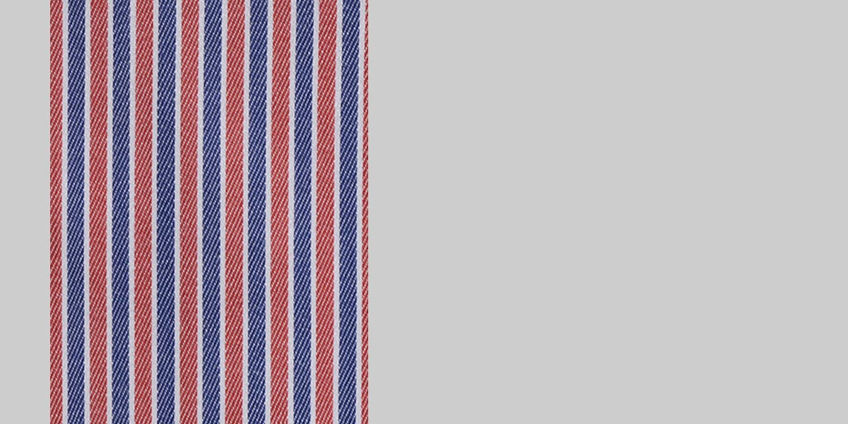 Soktas Blue & Red Striped Shirt- view-3