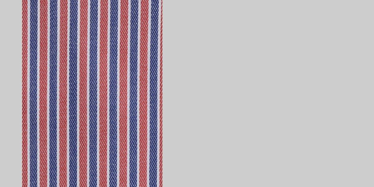 Soktas Blue & Red Striped Shirt- view-3