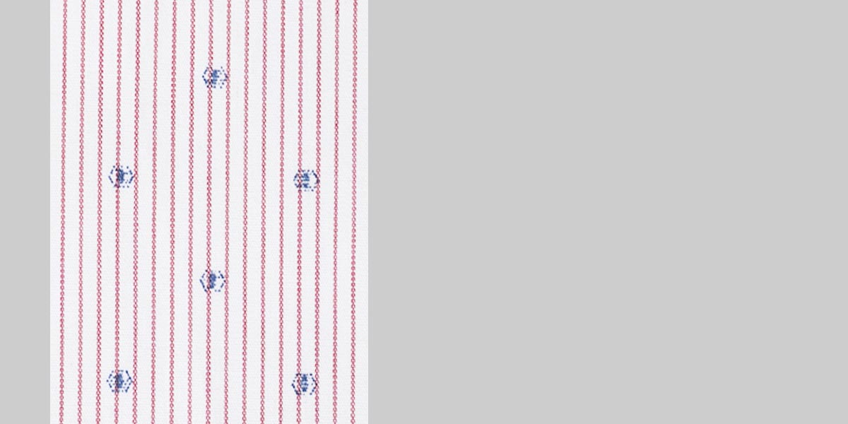 Wine Pencil Striped Shirt- view-3