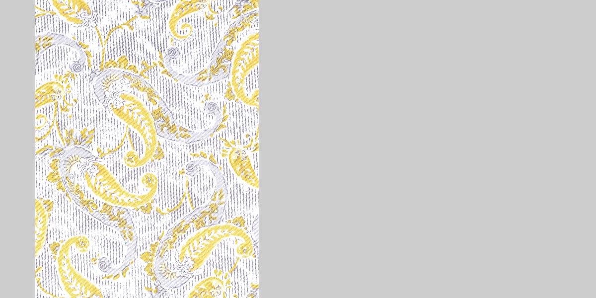 Turkish Yellow Paisley Shirt- view-3