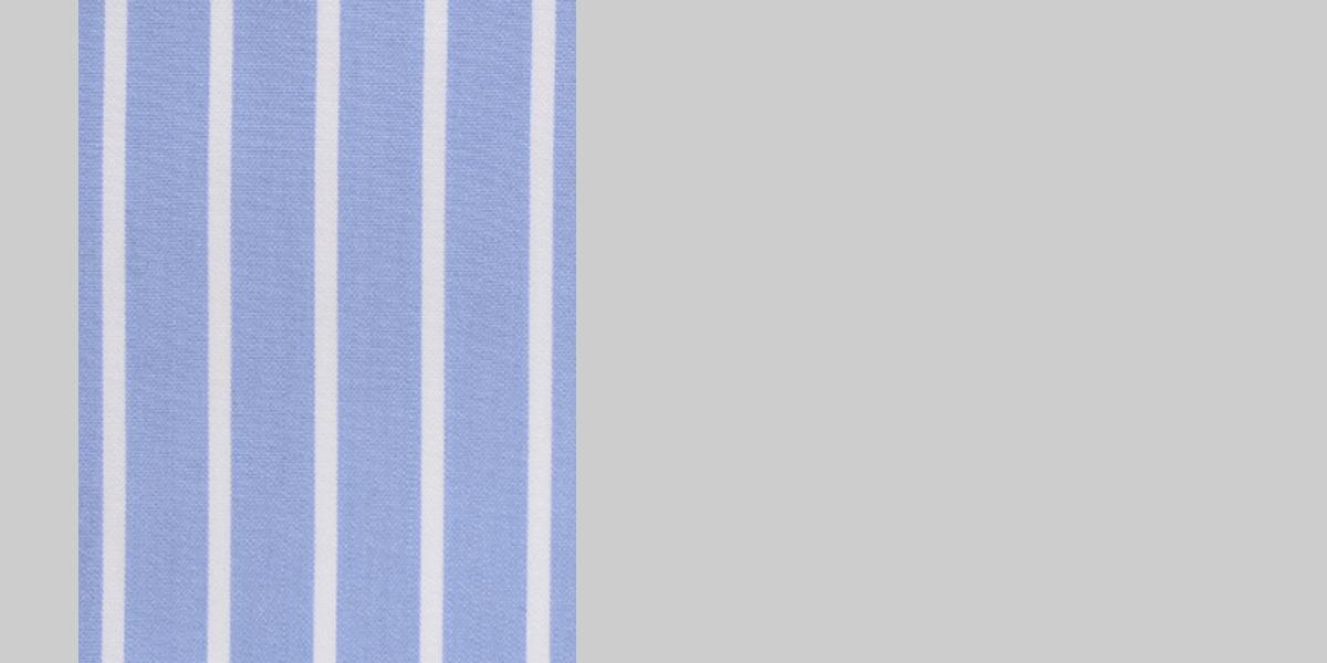 Blue Broadstripes Luxurious Shirt- view-3