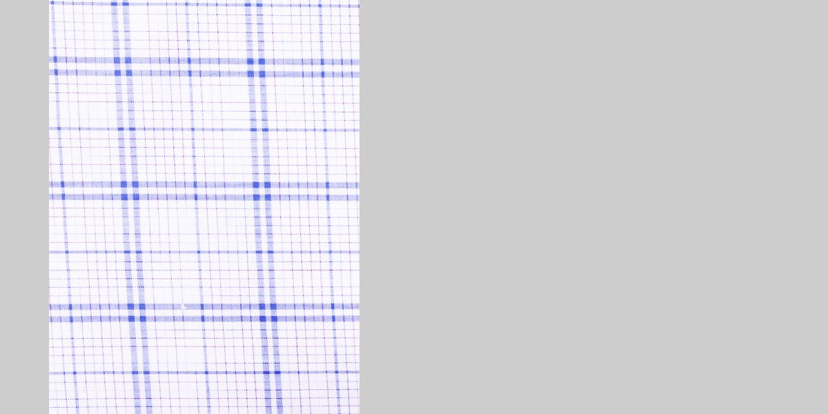 Two-Tone Blue Checks Shirt- view-3