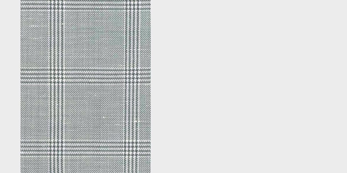 Oxford Grey Linen Checks Suit- view-5