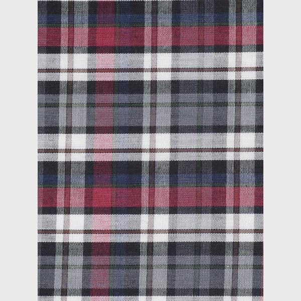 Maroon & Grey Tartan Checks Shirt-mbview-3