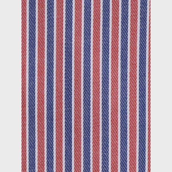 Soktas Blue & Red Striped Shirt-mbview-3