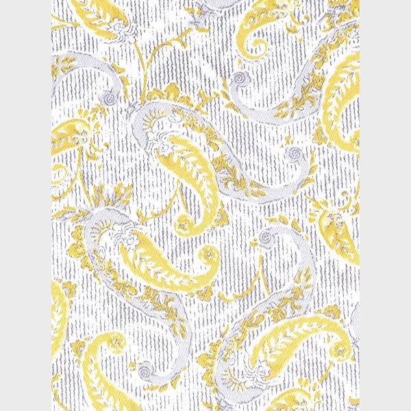Turkish Yellow Paisley Shirt-mbview-3