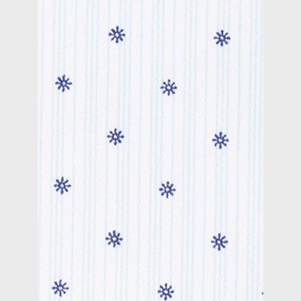 Striped Blue Print Shirt-mbview-3