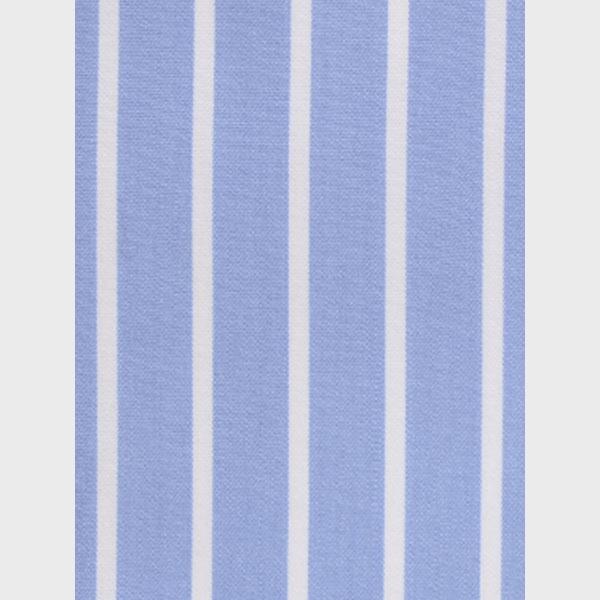 Blue Broadstripes Luxurious Shirt-mbview-3