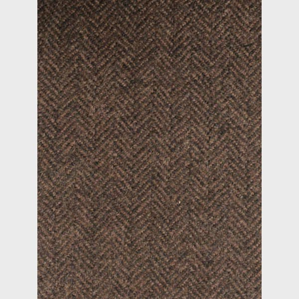 Brown Herringbone Wool Overcoat-mbview-4