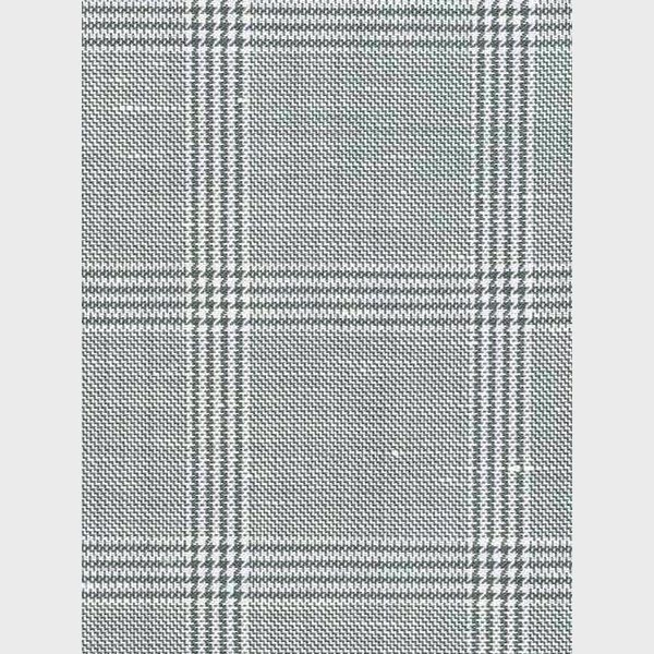 Oxford Grey Linen Checks Suit-mbview-5