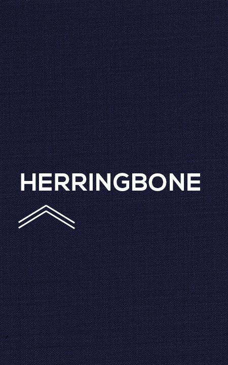 Fabric shot for Sartorial Navy Herringbone Suit