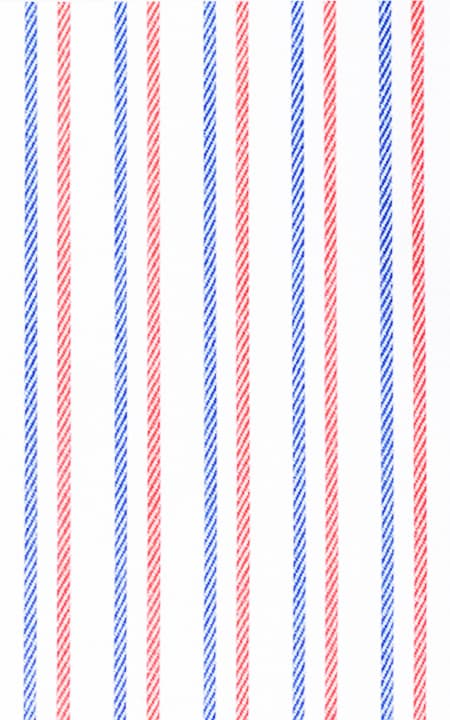 Fabric shot for Soktas Navy & Red Striped Shirt