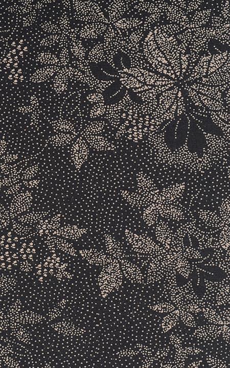 Black Printed Cotton
