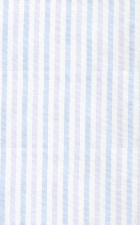 Blue & Purple Striped Cotton