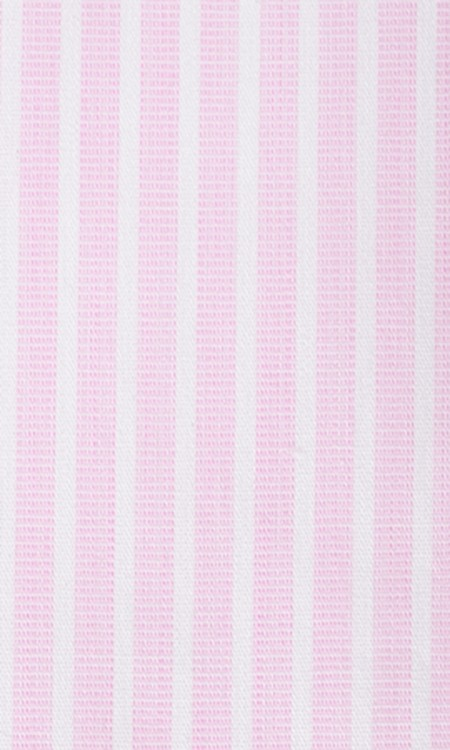 Fabric shot for Salmon Pink Striped Shirt
