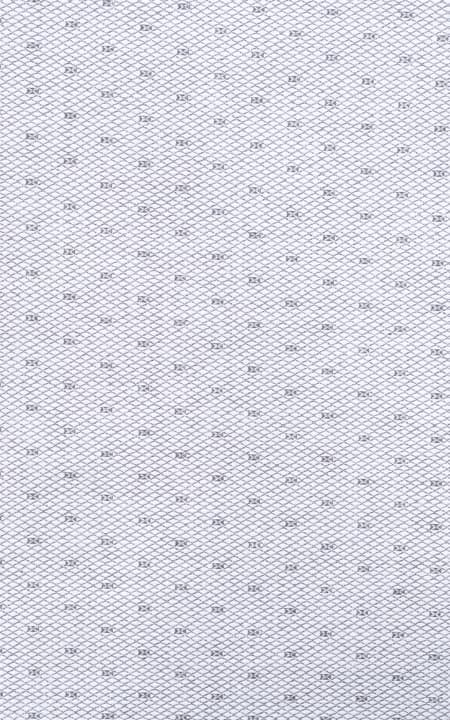 Gray Cross Weave Egyptian Cotton