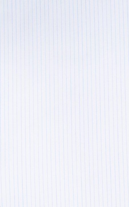 Fabric shot for Classic Blue Pinstripes Shirt