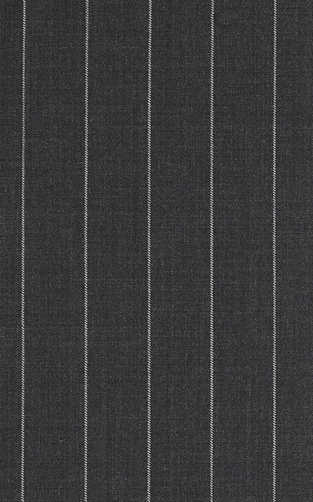 WoolRich Charcoal Grey Broadstripes