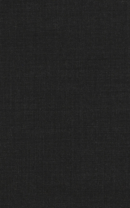 Pure Wool Fine-Worsted Charcoal Black Sharkskin