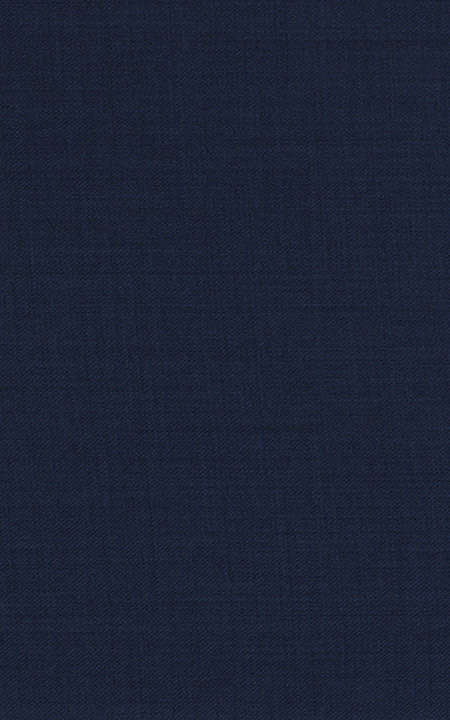 Pure Wool Fine-Worsted Navy Blue