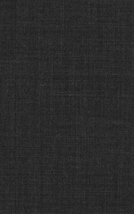 Pure Wool Fine-Worsted Charcoal Grey Sharkskin