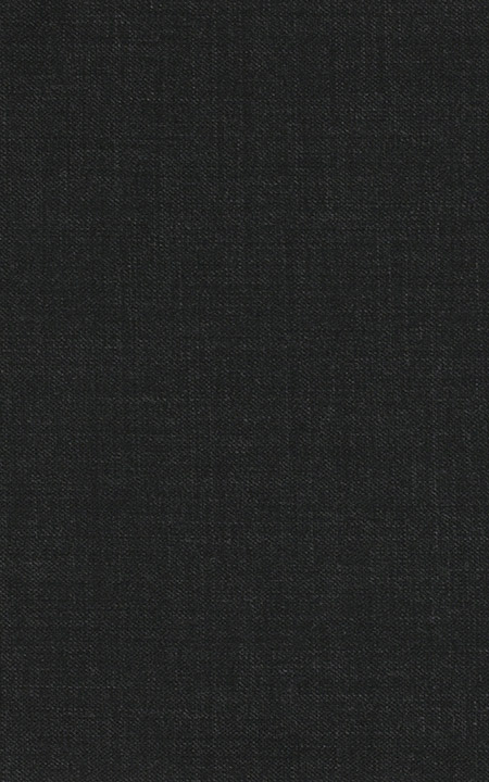 Pure Wool Charcoal Black Sharkskin