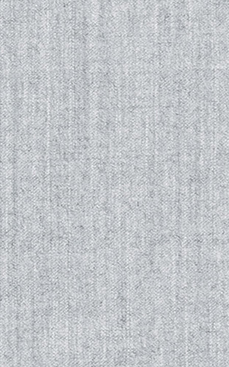 Pure Wool Fine-Worsted Light Grey Flannel
