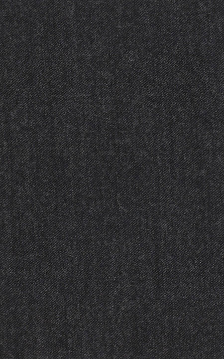 Pure Wool Fine-Worsted Charcoal Grey Flannel