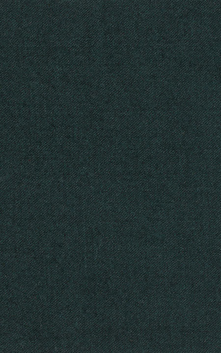 Pure Wool Fine-Worsted Dark Green Flannel