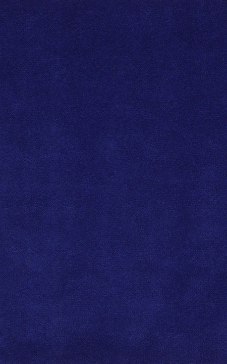 Fabric shot for Stately Royal Blue Velvet Jodhpuri Suit