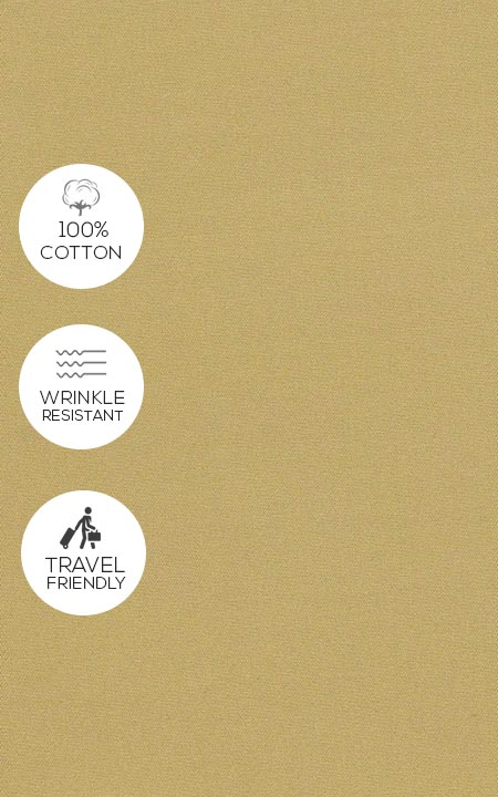 Khaki Brown Cotton