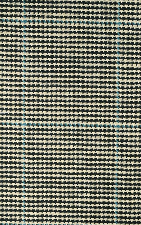 Fabric shot for Kensington Houndstooth Royal Polo Jacket