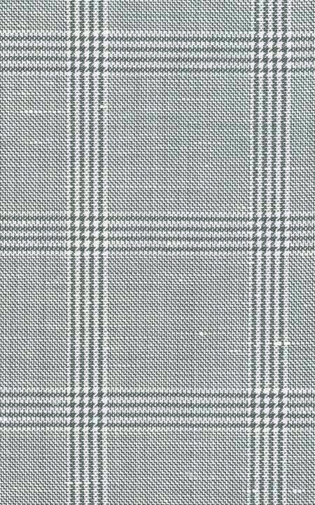 Belgian Grey Linen Checks