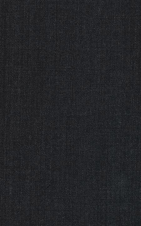 Wool Charcoal Black Sharkskin