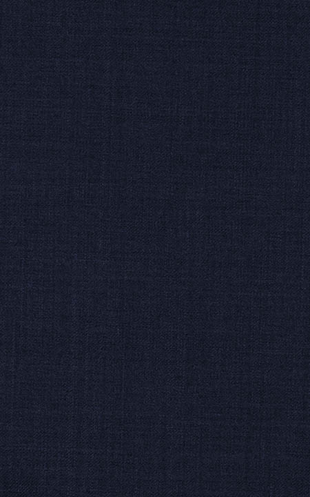 Wool Navy Blue Solid