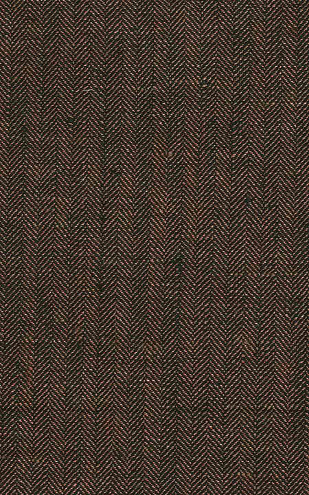 Belgian Brown Herringbone Linen