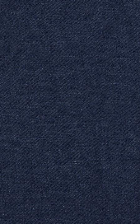 Belgian Navy Blue Linen