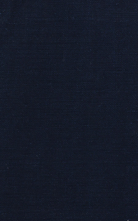 Belgian Midnight Blue Linen