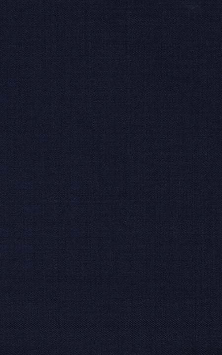 Pure Wool Worsted Navy Blue