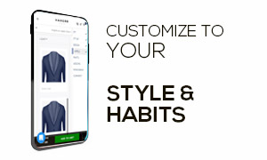 customize suits, shirts & more
