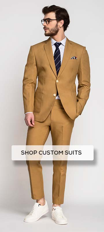 Cotton Custom Suit