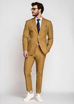 cotton custom suits